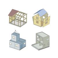 住宅の一般的な工法